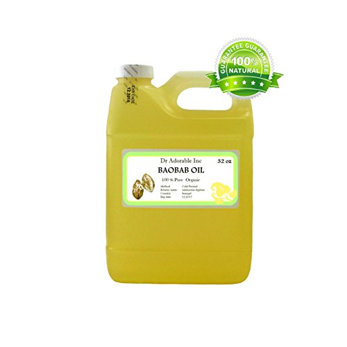 BAOBAB-CARRIER-OIL-BY-DRADORABLE-100-PURE-ORGANIC-COLD-PRESSED-32-oz-0