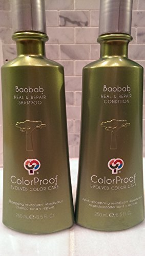 ColorProof-Baobab-Heal-Repair-Shampoo-and-Conditioner-85-oz-Color-Care-Set-Tree-Of-Life-The-mighty-Baobab-tree-succeeds-where-nothing-else-can-on-outcrops-of-pink-granite-rising-out-of-the-desert-in-s-0