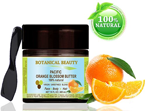 ORANGE-BLOSSOM-PACIFIC-BUTTER-100-Natural-100-PURE-BOTANICALS-Premium-Quality-16-Floz-480-ml-For-Skin-Hair-and-Nail-Care-One-of-the-richest-natural-sources-of-vitamin-C-Pacific-Orange-Blossom-Butter-i-0