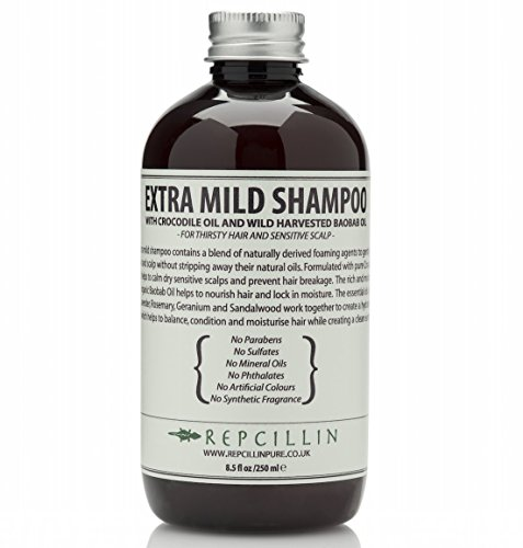 Repcillin-Extra-Mild-Shampoo-with-Crocodile-Oil-and-Wild-Harvested-Baobab-Oil-For-Thirsty-Hair-and-Sensitive-Scalp-0